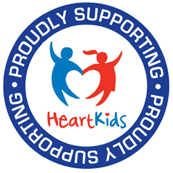 Proudly supporting HeartKids